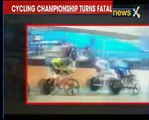 Major accident at Asian Cycling Championship; 3 cyclists suffer severe injury