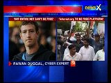 Facebook CEO Mark Zuckerberg: Unsustainable to offer whole Internet for free