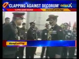 Army Chief General Dalbir Suhag orders personnel not to clap while in uniform