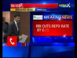 RBI cuts repo rates by 25 basis points; new repo rate is 7.25%