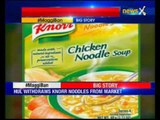 Pending approval from FSSAI, HUL withdraws Knorr noodles