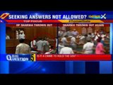 Unruly scenes in Delhi assembly, BJP MLA marshalled out