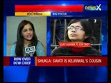 Abha Singh questions appointment of Swati Maliwal as DCW chief