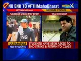 FTII row: Salman Khan backs students, says Gajendra Chauhan should go