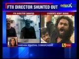FTII Row: FTII director DJ Narain shunted out