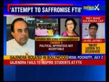 FTII row: Aparna Sen backs FTII students, urges public to join in