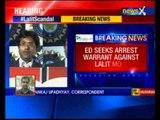 ED seeks arrest warrant against Lalit Modi