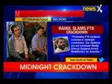Our students are not criminals Modiji: Rahul Gandhi slams govt over FTII arrests