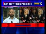 BJP's own ally legitimize Traitors, says Hurriyat is a 3rd party to Kashmir issue
