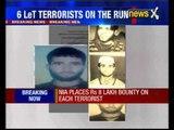 NIA s Rs.39 lakh reward on six terrorists