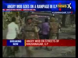 Mob on rampage after rapist let off by the cops in Uttar Pradesh