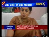 Smriti Irani's HRD ministry visit to Amethi, Congress lists posers for her