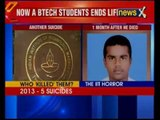 IIT Madras B.Tech Final Year Student Commits Suicide in Hostel