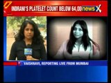 Indrani Mukerjea suffering from suspected dengue, court told