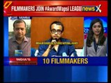 10 filmmakers return awards over FTII controversy