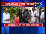Venkaiah Naidu defends government on NewsX