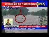 Caught On Camera: Shocking video of three men drowing in Kanathur Lake, Kanchipuram
