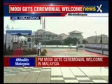 PM Modi receives ceremonial welcome in Malaysia