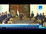 أخبار TeN - السيسي يستقبل رئيس الحكومة التونسية ويؤكدان أهمية تعزيز التعاون المشترك