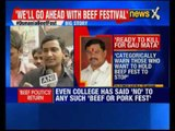 Osmania Beef Festival: Varsity and Court Say No, Students Defiant