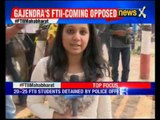 Chauhan takes charge as FTII chairman; 40 protesters held