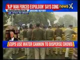 Dalit scholar suicide: Students protest outside HRD ministry in Delhi, cops use water cannon