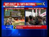 Rohith Vemula death: Protests continue at Hyderabad University ahead of Rahul visit