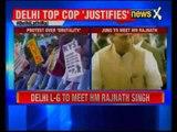 Delhi LG Najeeb Jung to meet home minister Rajnath Singh