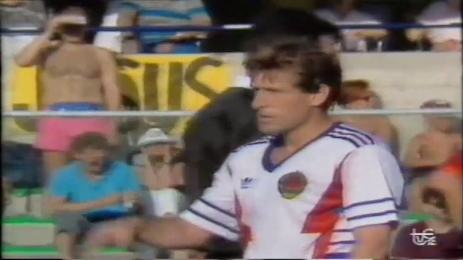Safet Susic ● Skills ● Spain 1:2 Yugoslavia ● World Cup 1990