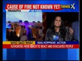 Fire at Make in India event: Close save for bollywood stars; CM Devendra Fadnavis orders probe