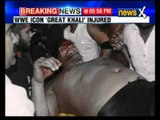 Great Khali injured during wrestling match