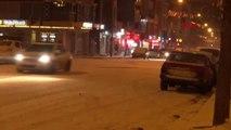 Ardahan Ardahan-Şavşat Yolu, Kar ve Tipi Nedeniyle Ulaşıma Kapatıldı