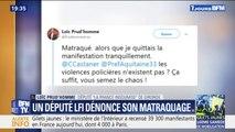 Gilets jaunes: un député de la France insoumise dit avoir été matraqué par des policiers