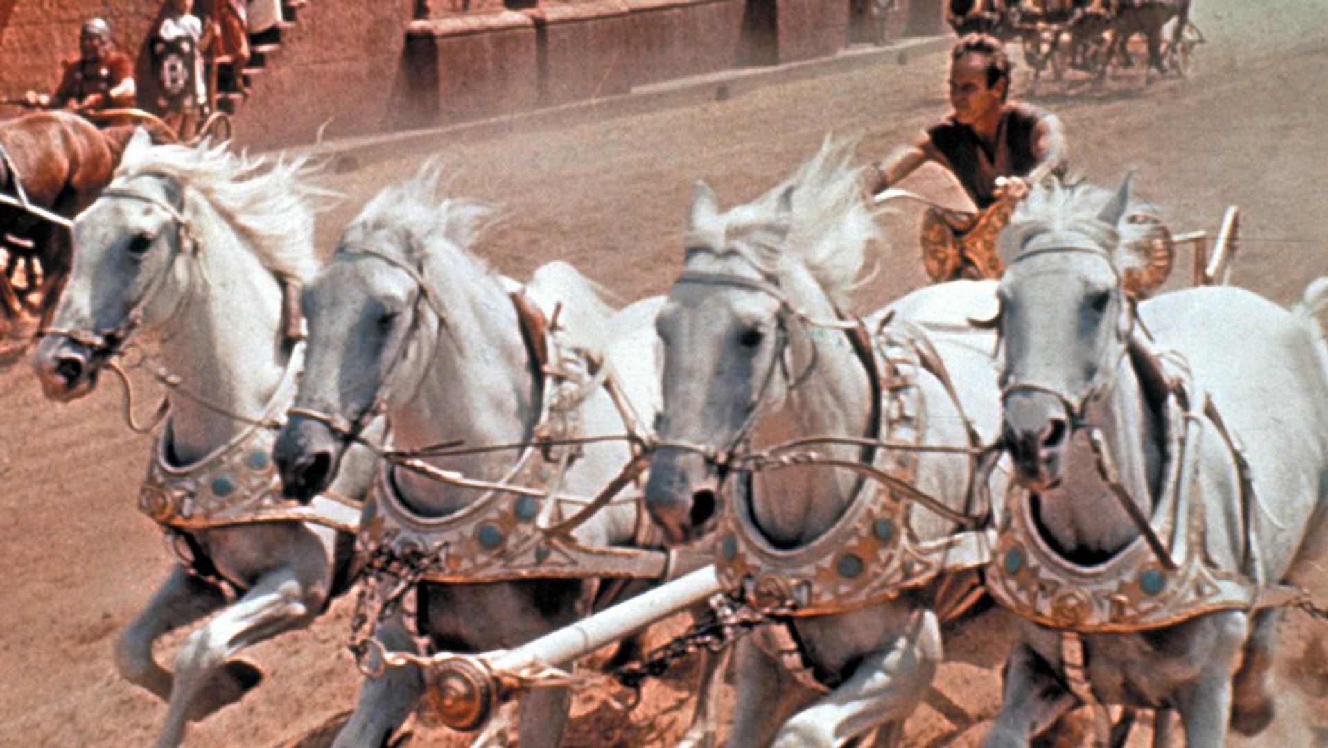 Ben-Hur Movie (1959) - Charlton Heston, Jack Hawkins, Stephen Boyd