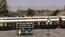 Gorbriton Hill O gauge or 7mm scale model train layout at Warley Model Railway Show in 2018 | Pilentum Television - The world of model trains