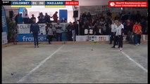 Sète, National féminin à pétanque 2019 : Quart COLOMBET vs MAILLARD