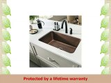 Sinkology SK20230ACWGB Orwell Grid and Strainer Drain Copper Kitchen Sink