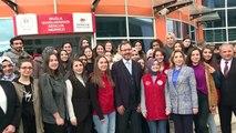 Kasapoğlu, Kredi Yurtlar Kurumunda kalan öğrencilerin aileleri ile görüştü - MUĞLA