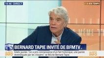 """Les gilets jaunes essayent de devenir un parti politique? """"Ils vont l'être"""" affirme Bernard Tapie"""