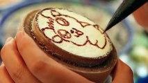 Chinese Street Food (Xi'an) - Cute Hamtaro Hamster Rice Cake / Hamutarō ハム太郎