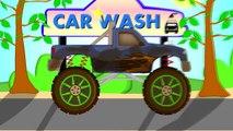 Car Wash Monster Truck | Machine De Lavage De Voiture | Animation