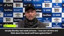 (Subtitled) 'Weather didn't help' Klopp on 0-0 Everton draw