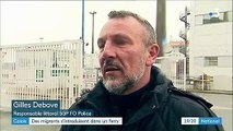 Calais : des migrants s'introduisent à bord d'un ferry