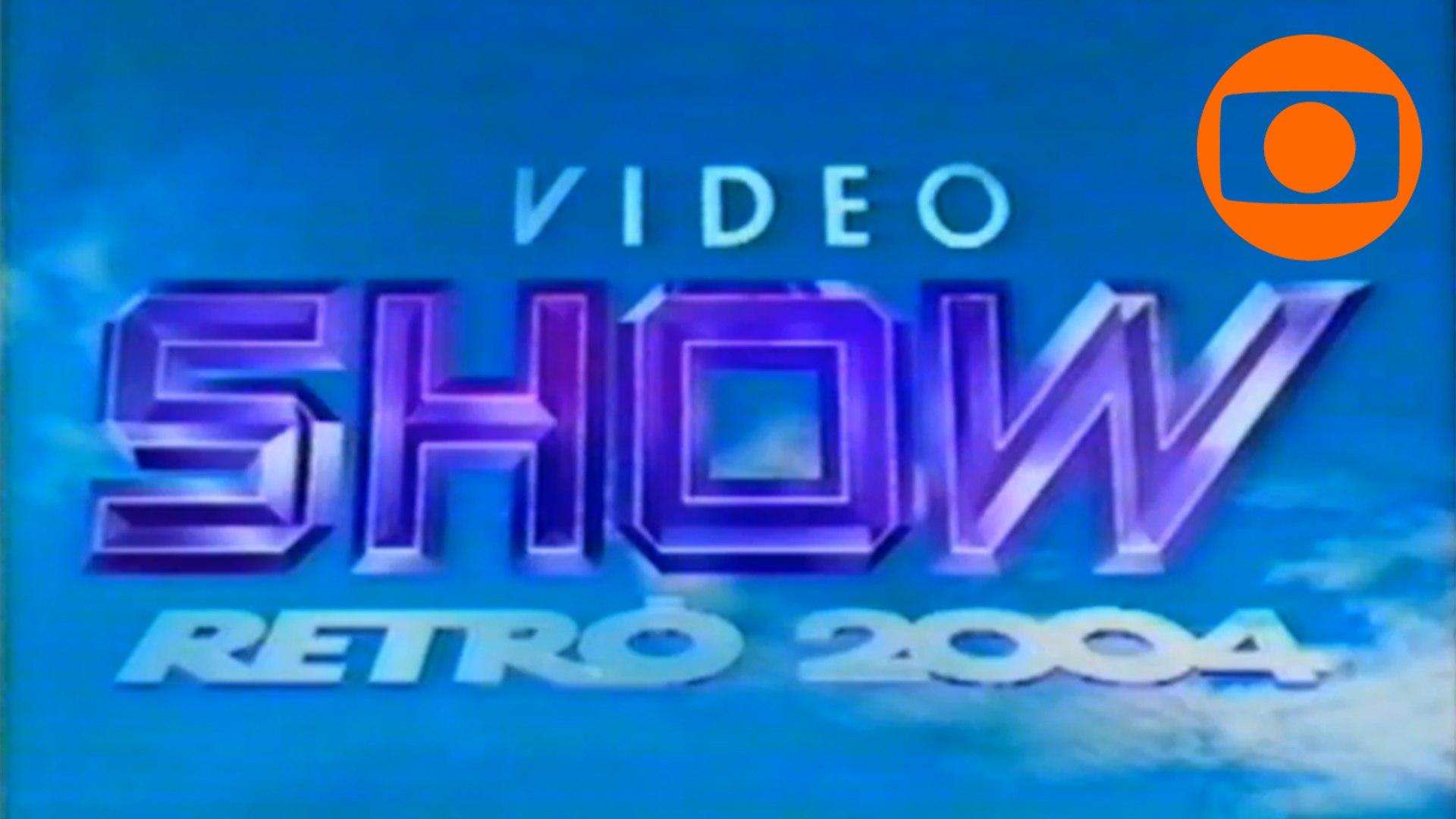 Vídeo Show Retrô 2004 – Completo (28/12/2004)