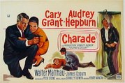 Charade movie (1963)  Cary Grant, Audrey Hepburn
