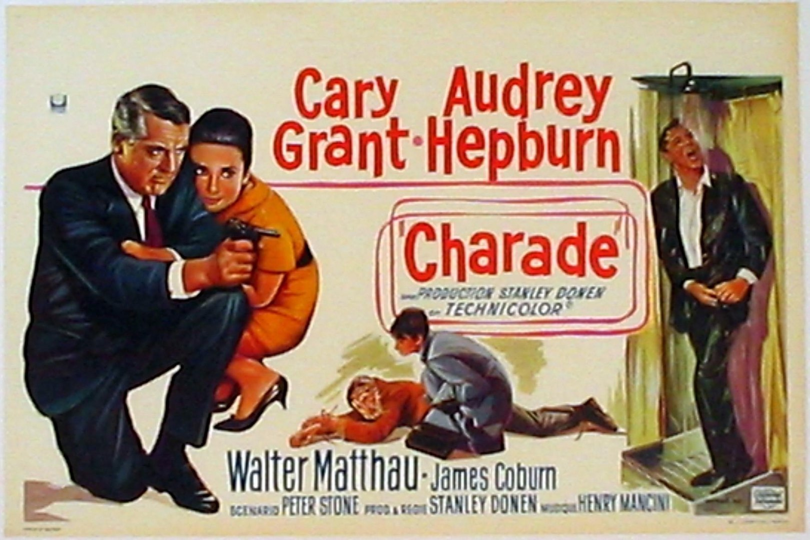 Charade movie (1963) Cary Grant, Audrey Hepburn - video Dailymotion