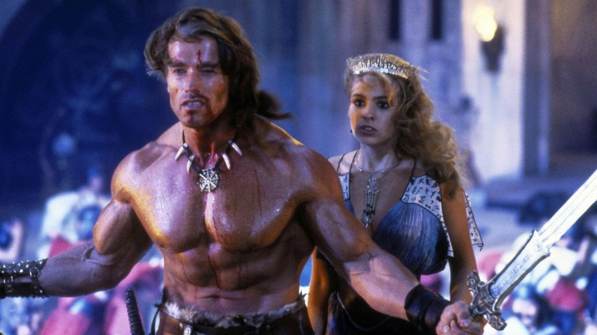 Conan The Destroyer Movie 1984 Arnold Schwarzenegger Video Dailymotion
