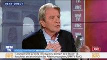 """Bernard Kouchner : """"La France doit être prudente et ne pas être arrogante"""" sur la situation en Algérie"""