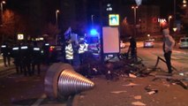 Şişli'de Trafik Kazası! Takla Atan Otomobil Ortalığı Savaş Alanına Döndürdü iha