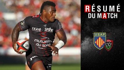 Résumé Perpignan/Toulon TOP14 J18